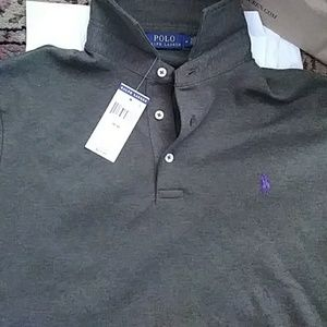 New with tags Ralph Lauren Polo. Rare purple horse